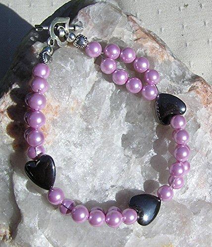 hematite-heart-pink-shell-pearl-gemstone-bracelet-carnation
