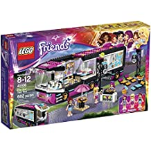 LEGO Friends 41106 Pop Star Tour Bus Building Kit by LEGO
