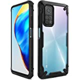 Ringke Fusion-X Compatible with Mi 10T 5G Hoesje, Compatible with Mi 10T Pro 5G Hoesje (2020) - Black