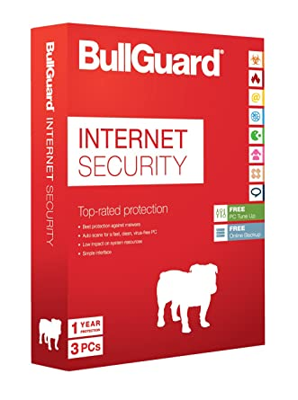 BullGuard Internet Security Latest Edition - 1 Year - 3 User ...