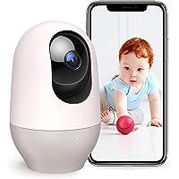Nooie Babyphone mit Kamera WLAN IP Überwachungskamera innen 1080P Pan-Tilt-Zoom Haustier Kamera Bewegungserkennung Nachtsicht Zwei Wege Audio kompatibel mit Alexa, IOS/Android und Cloud Service