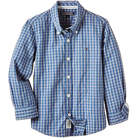Tommy Hilfiger Booth Check Shirt L/s - Camisa Niños