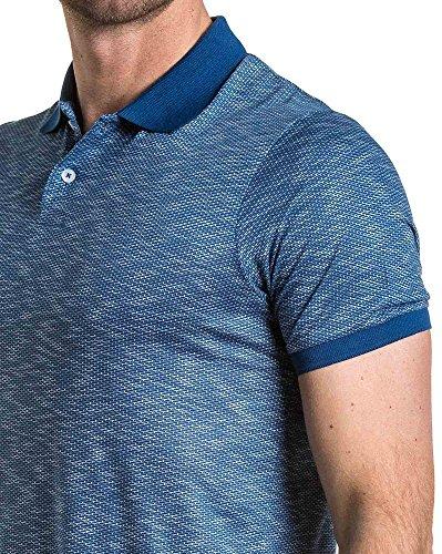 BLZ jeans - Königs Polo Trend blau Mann gemustert Blau