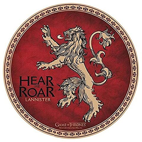 Game of Thrones Tapis de souris réversible Motif Lannister 21,5 cm