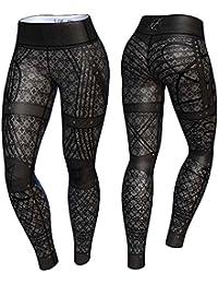 Anarchy Apparel Compression Legging, Gomorra, Aérobic Pantalons pour femme Compression