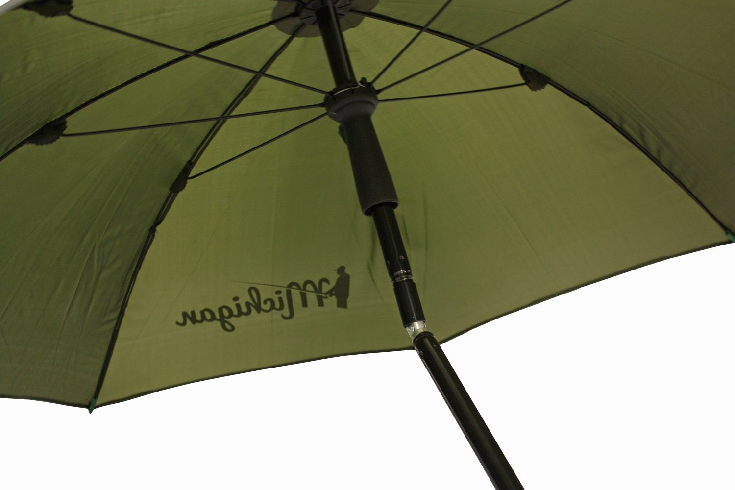 "Michigan Fishing Umbrella with Top Tilt and Sides Brolly Shelter with FREE Carry Bag, Olive Green, 50"", 60"", 75"" or 86"" 3"