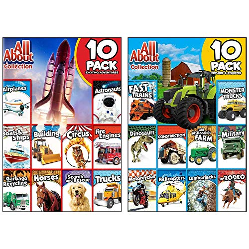 All About Collection: 20 Exciting Adventures For Kids - Includes Airplanes, Trains, Monster Trucks, & Many More! - Monster-truck-dvd