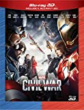 Captain America - Civil War - 3d+2d [Blu-ray] [Import anglais]