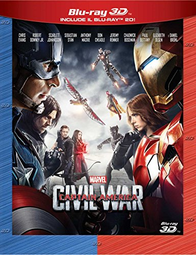 Captain America Civil War 3D (2 Blu-Ray)