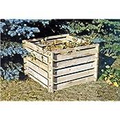 Tiktaktoo 9251-84060005, Steckkomposter Holz Kompostsilo Bausatz 100x100x70cm Komposter