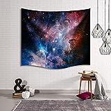 Universe galaxy star Tapisserie, IMEI Multi Zweck Weltall Wand hängende Dekoration Wandbild Art Wand Sofa Bezug Strand