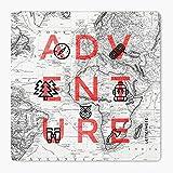 LetterNote Adventure MDF Coaster