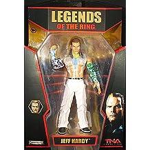 TNA Legends Of The Anillo 2 Jeff Hardy Figura De Acción De Lucha Libre