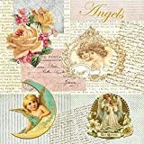 amb 20 Servietten, Engel, Romantic Angel, Vintage Style,