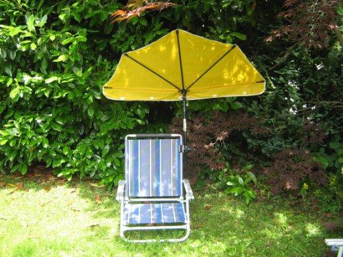 SET-chaise de plage aLU-dossier réglable - 4 voies hOLLY sTABIELO exklusiv aluminium : solide 2.8 kg-charge max. : env. 120 kg-couleur de la chaise : aZURO ou bleu avec fächerschirm-bleu-jaune-rouge-couleur naturel (à préciser) universalgelenkhalterung 360° hOLLY-produits sTABIELO iNOVATIONEN-fabriqué en allemagne