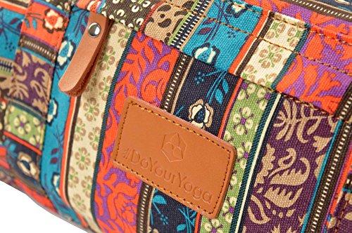 #DoYourYoga Yogatasche Damayanti Muster 2 Logo