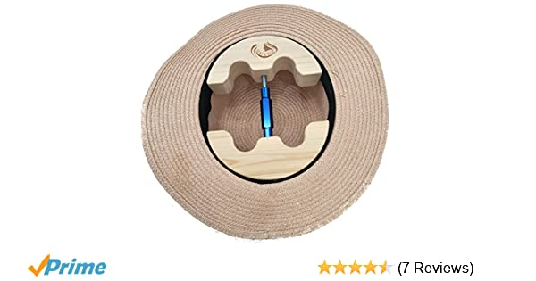 COWBOY Hat Stretcher,Small Size 6 1//2 to 9 1//2-Colourful Adjustable Buckle Heavy Duty-Easy to Use Small, Blue