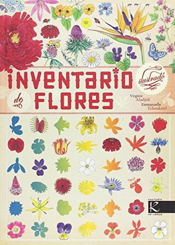 Inventario ilustrado de flores (Ciencias) por Virginiee Aladjidi