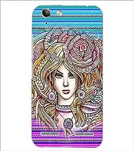 PrintDhaba Fantasy Girl D-6005 Back Case Cover for LENOVO VIBE K5 PLUS (Multi-Coloured)