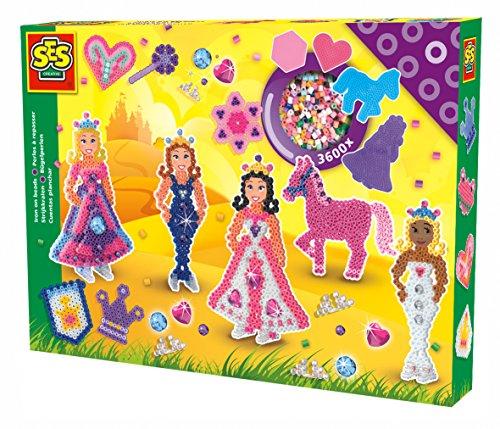 Ses Creative - Cuentas para planchar de mundo de princesas, (06071)