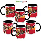 HomeSoGood Start Singing Please Coffee Mugs (6 Mugs)