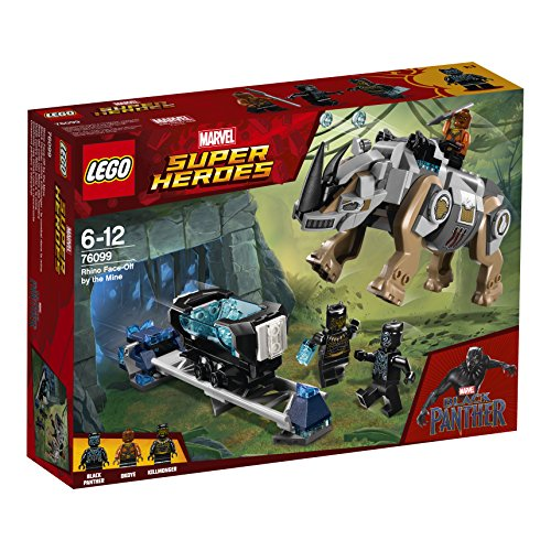 LEGO Super Heroes - Rhino Face-Off by the Mine, única (76099)