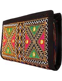 Craft Trade Handmade Designer Embroiderey Rajasthani Clutch Bags For Women