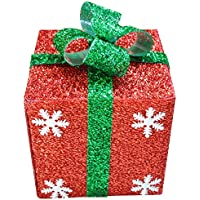 KYWBD Caja, Decoraciones de la Escena de Navidad-F