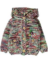 boboli, 222118 - Abrigo Tricotosa para bebe - niñas