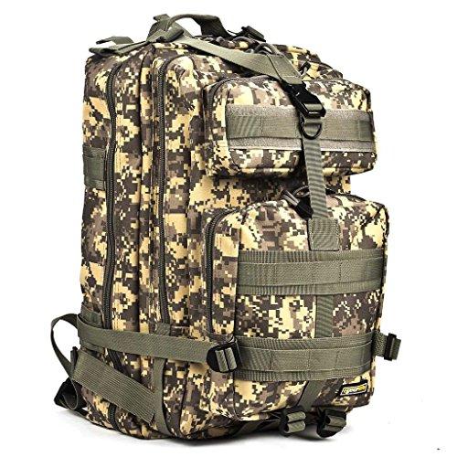 Imagen de eyourlife rfid  militar táctica molle para acampada camping senderismo deporte backpack de asalto patrulla para hombre mujer 40l camuflaje colorido