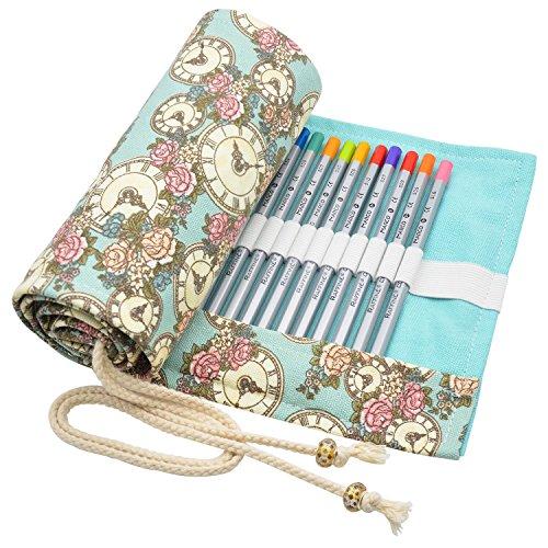 minhe-tela-wrap-per-72-matite-colorate-roll-up-portatile-portapenne-supporto-matita