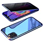 Privacy Screen Protection Case for iPhone 11/Pro/Pro Max, Anti Peeping Magnetic Adsorption Double-Sided Privacy Screen...