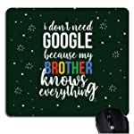 YaYa Cafe Combo of Birthday, Google Brother Mousepad for Men/Boys