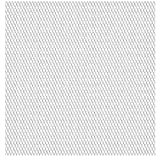vidaXL Gittermatte Streckmetall Edelstahl 50×50 cm 45×20×4 mm