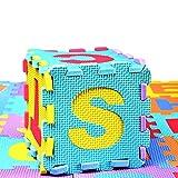 #5: Fancyku Kids Foam Play, Alphabet ABC Plus Numbers Puzzle Mat 36 Piece