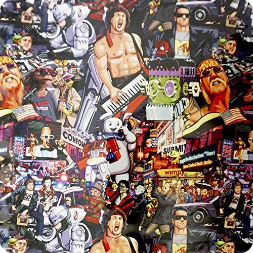Hydrographischer Film mit Stars der 80er Jahre: Alf, Rambo, E. T, Terminator usw. HOT-156 (1) Pva-serie