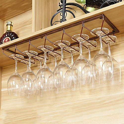 Rotweinglashalter auf den Kopf gestellt Home Becherhalter hängend Eisen hängend Getränkehalter...