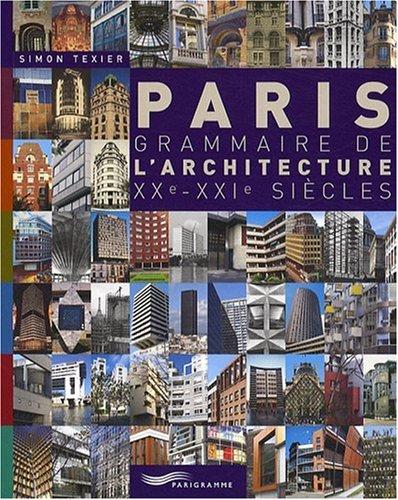 PARIS GRAMMAIRE ARCHITECTUR 09 par SIMON TEXIER