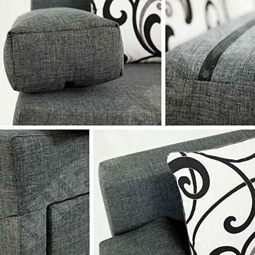 Ecksofa Couch –  günstig Schlafsofa Dover Sofa Bild 6*
