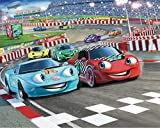 Walltastic Car Racers - Papel pintado (2,5 x 3 m), diseño coches de carreras