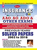 Insurance AAO, AO, ADO & Other Exams Previous Years Solved Papers – English - 1681