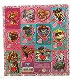PAW PATROL 10 Bogen Set 12er Stickerbogen Sticker Mitgebsel (für Mädchen)