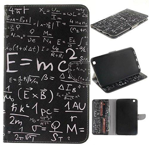 Skytar Samsung Galaxy Tab 3 8.0 Hülle - PU Leder Flip Cover Case Stand Hülle für Samsung Galaxy Tab 3 8.0 Zoll SM-T310 T311 T315 Tablet Schutzhülle Tasche Etui mit Karten-slot,Formel