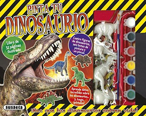 Pinta tu dinosaurio (Caja regalo)