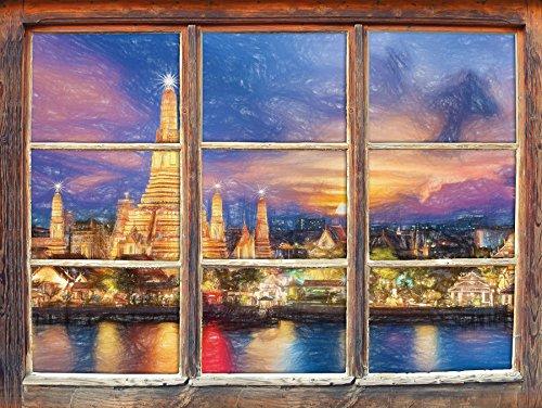 wat-arun-temple-night-view-bangkok-thailande-effet-de-crayon-dart-fenetre-en-3d-look-mur-ou-format-v