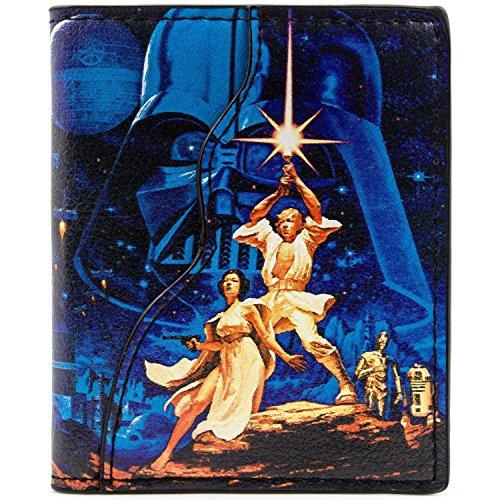 Star Wars A New Hope Luke Skywalker Mehrfarbig Portemonnaie Geldbörse