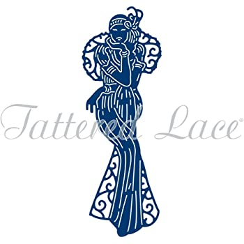 Tattered Lace ART DECO VIOLET Die From Art Deco Classics Collection TLD0273