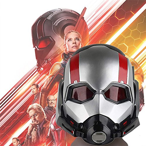(K-Y YK Ant-Man 2 and The Wasp 2018 Halloween Collector's Edition Ant-Man Warrior Helmet Cosplay Headgear Adult Horror Mask)