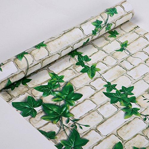 Zhzhco Selbstklebende Pvc-Wallpaper Wallpaper 45Cm*10M Wasserdicht