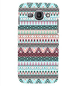 ColourCraft Tribal pattern Design Back Case Cover for SAMSUNG GALAXY ACE 3 3G S7270